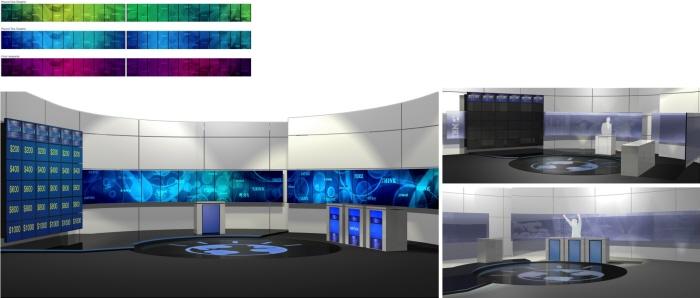 Jeopardy Ibm Watson Challenge Stage Design By Jason