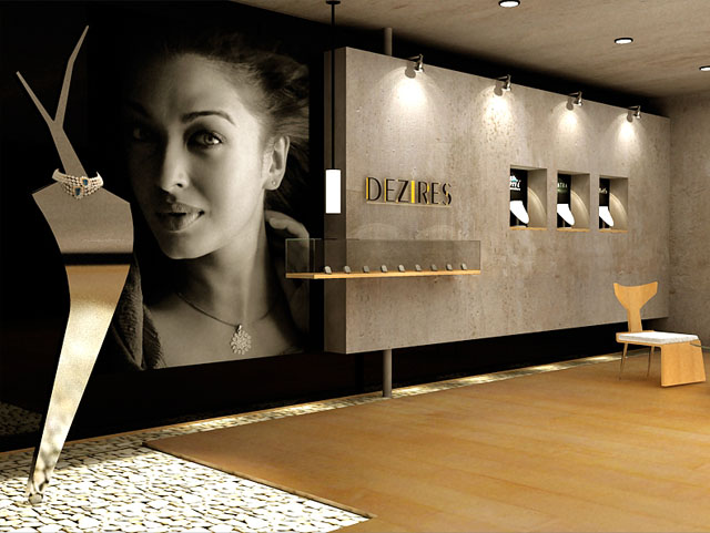 Jewellery interiors joy studio design gallery best design for Jewellery showroom interior design images