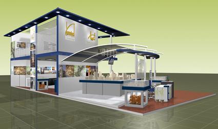 Mezzanine Floor Design exhibition designanand krishnamurthy at coroflot