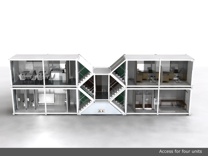 LiNX temporary container home picture (image hosted by coroflot.com)