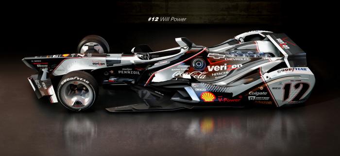 Indycar 2015 Will Power By Matus Prochaczka At Coroflot Com
