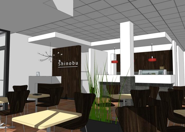 D interior rendering by thapana kusirivatananukul at