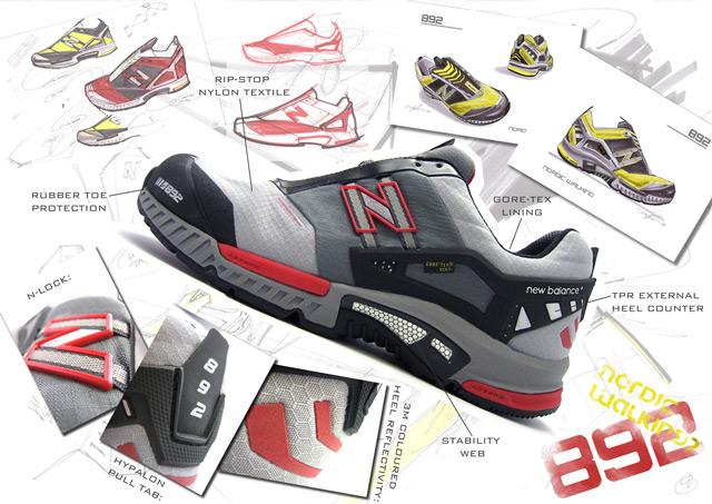 Cheap new balance gore tex walking shoe