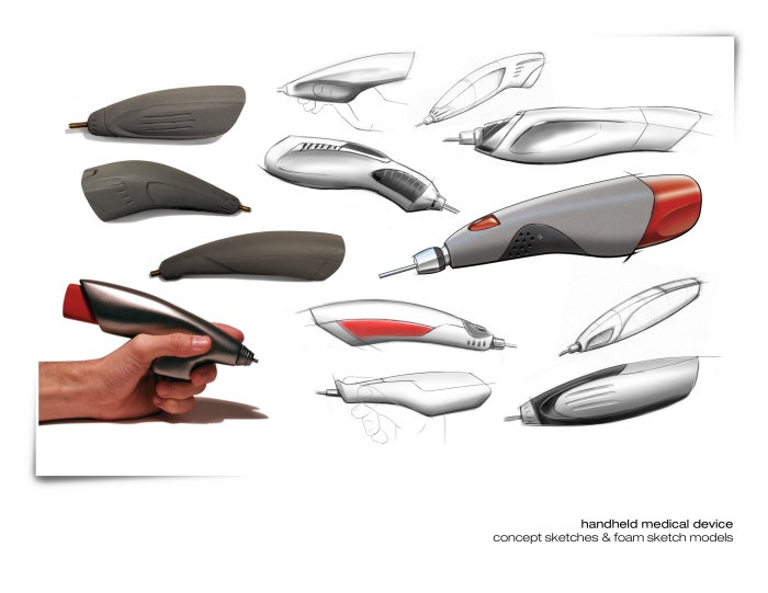 industrial design by aaron dale at