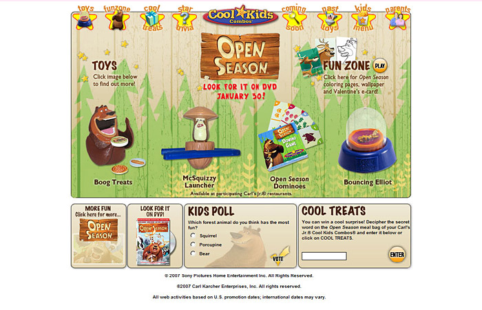 Carls Jr Cool Kids By Agnes Chan At Coroflotcom - Carl's cool cars