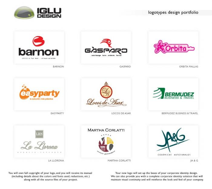 Logo Design Samples By IGLU At Coroflot