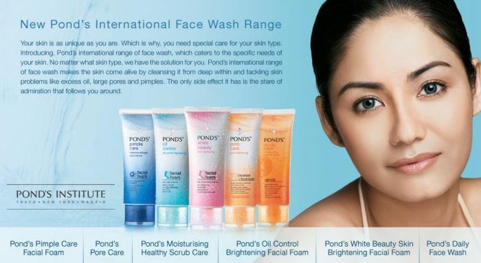 Ponds Facewash