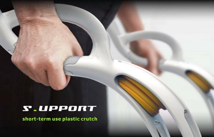 Crutch Concept By Pei Hua Huang At Coroflot Com