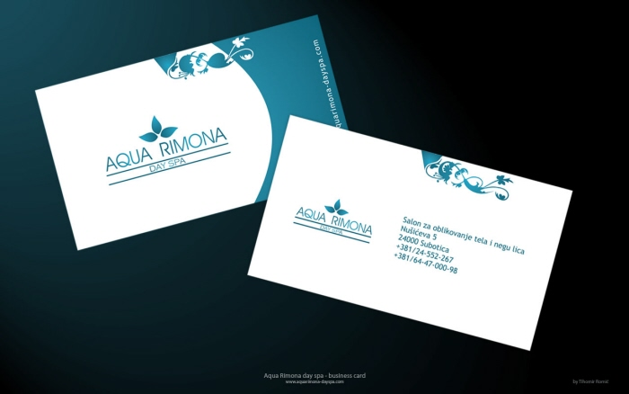 spa business cards - Spa Business Cards