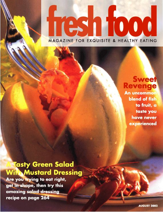 fresh food magazine covers by ay creative design at