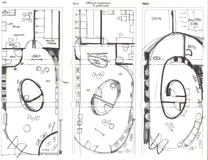 Retail design by emma waters at for Clothing store floor plan layout