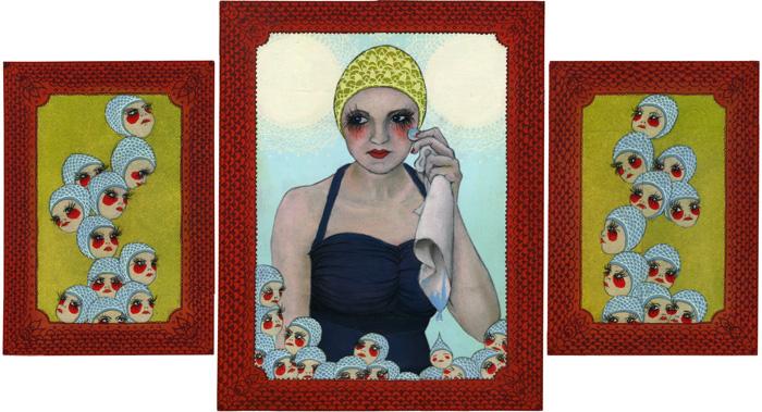 Sara Antoinette Martin painting