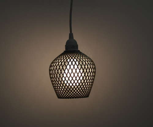 Dentelle 3d Printed Lampshades By Samuel Bernier By