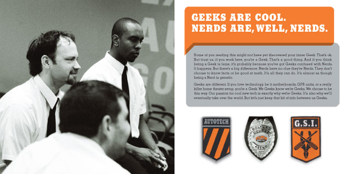 Geek Squad Employee Handbook by Emily Einheit at Coroflot.com