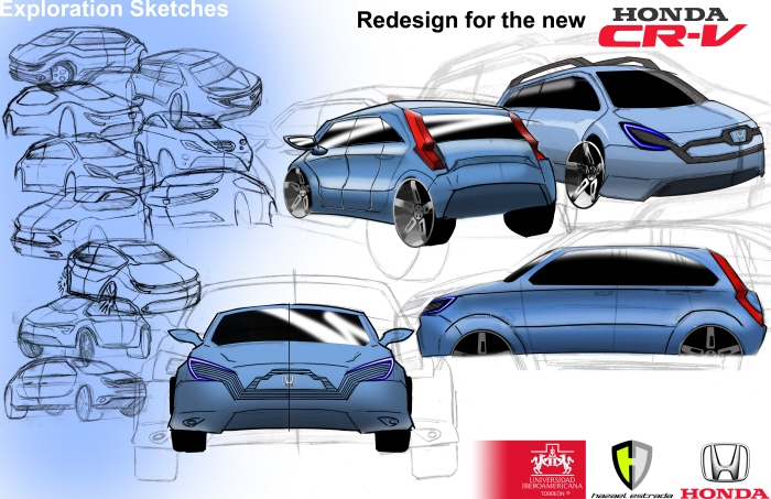 sketch of 2012 Honda CR-V