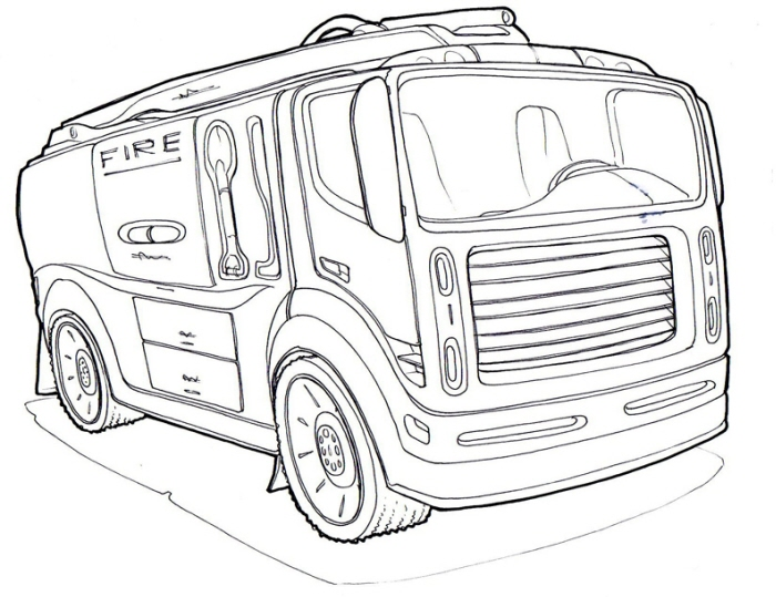 Fire Engine Ambulance Coloring Pages besides Fire Engine Ambulance Coloring Pages furthermore Air Conditioner  ponents Split Air Conditioner Outdoor Unit Structure Mini Split Air Conditioner  ponents also Fire Truck Black And White Cliparts moreover Electric bell. on vintage firehouse