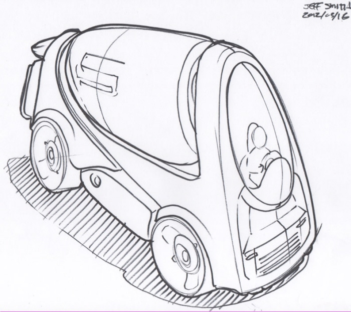 Concept Sketches - Linework - Single concept per page by Jeff Smith ...