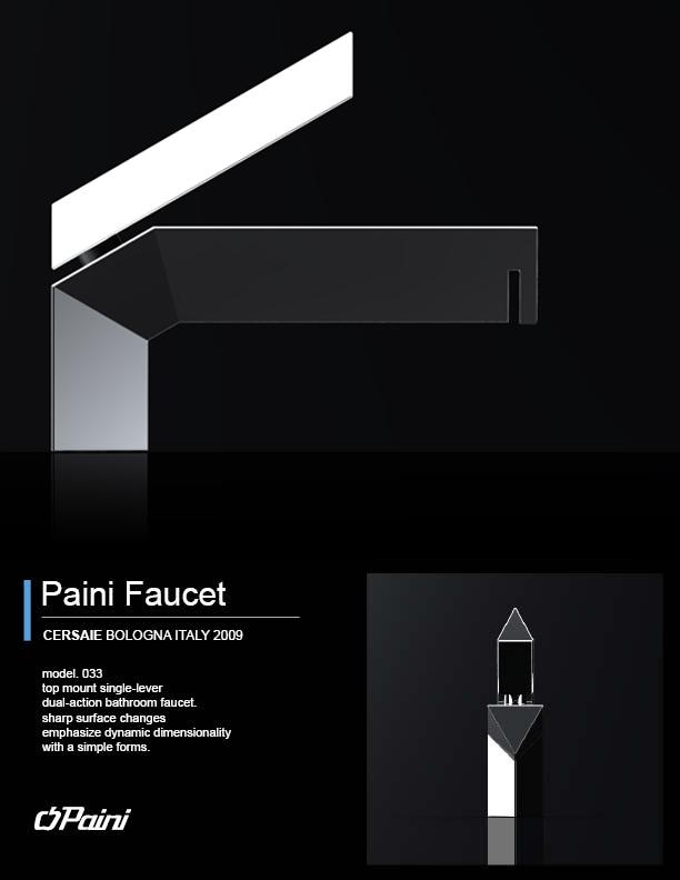 Paini Faucet by Sei Cho at Coroflot.com
