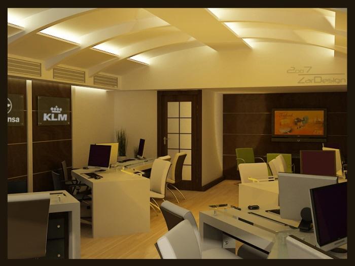 Shop design travel agency by shaghayegh sheri zarafshan for Travel agency interior design