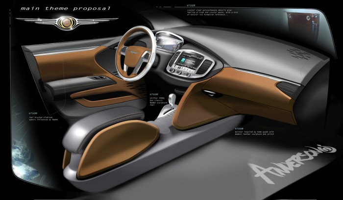 Chrysler Adv Interior By Scott Anderson At