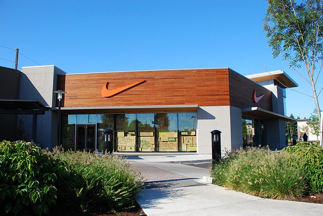 Nike Test Store Exterior