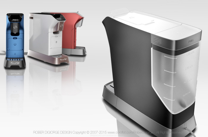Platinum Capsule Coffee Maker : Capsule / Pod Coffee Maker by Rober Digiorge at Coroflot.com