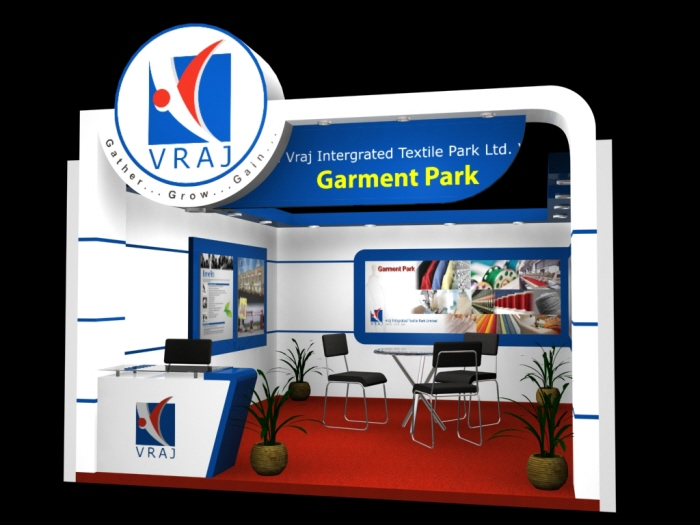 Garment Exhibition Stall : Vraj chiripalgroup by nikhil mehta at coroflot