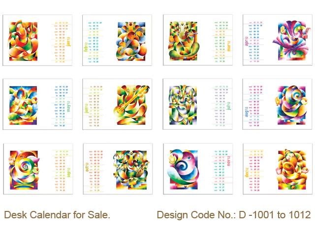 Calendar For Sale : Desk calendar for sale by mark creation at coroflot