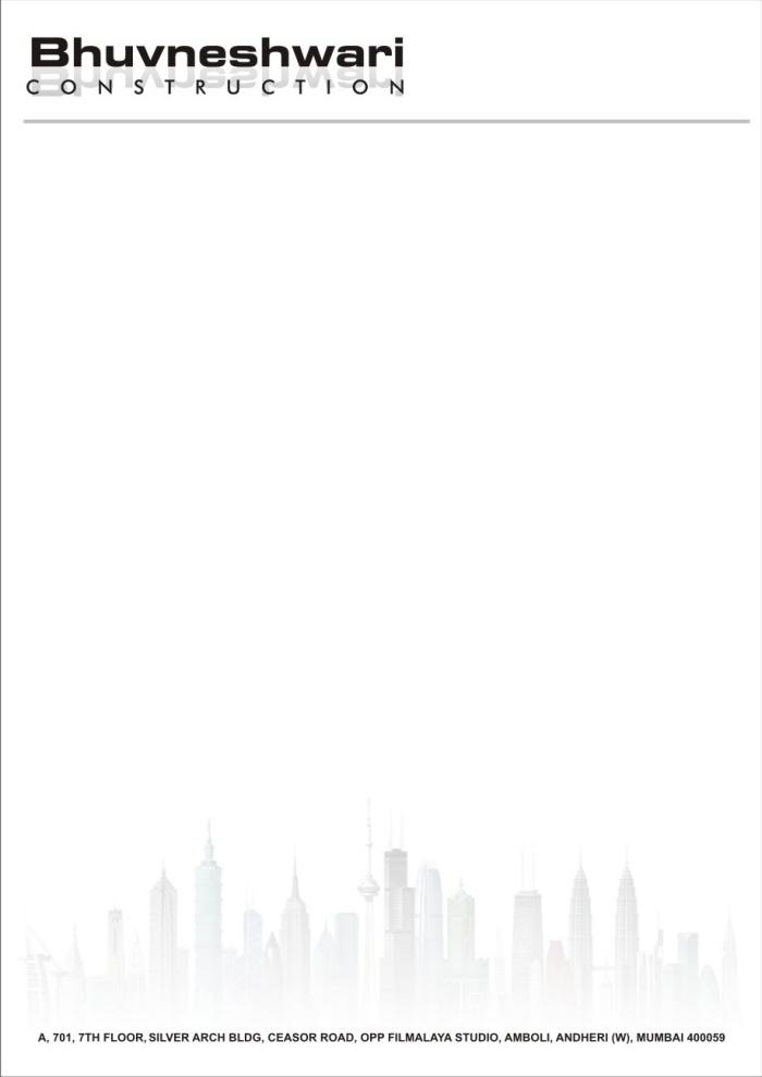 Letterheads by ilyas qureshi at coroflot construction company letterhead design altavistaventures Image collections