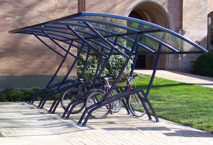Hard Covered Bike Shelters : Bike shelter at wwu by wade west coroflot