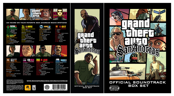 Gta san andreas soundtrack