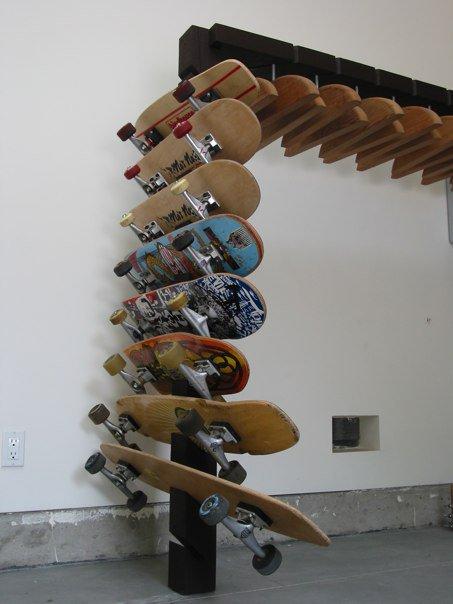Skateboard Rack By Jeff Casper At Coroflot Com