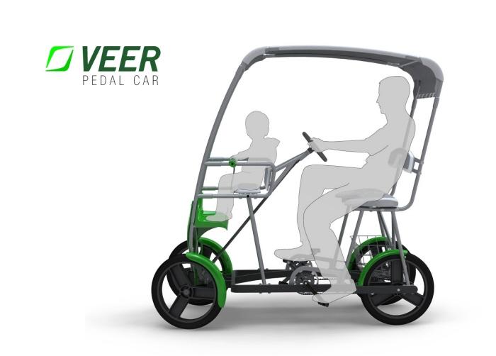 Adult Pedal Car: Veer Pedal Car By Arvin Abadilla At Coroflot.com