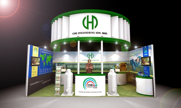 Exhibition Booth Johor : Booth design by kenneth tan at coroflot
