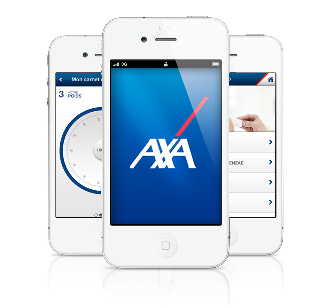 axa application by sylvain weiss at