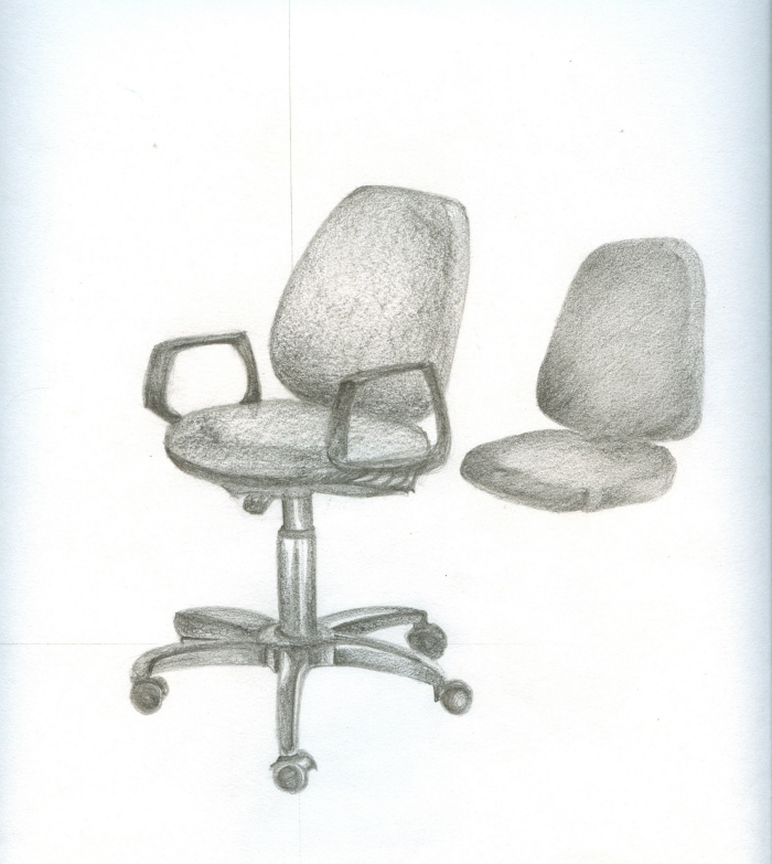 Office Chair Drawing