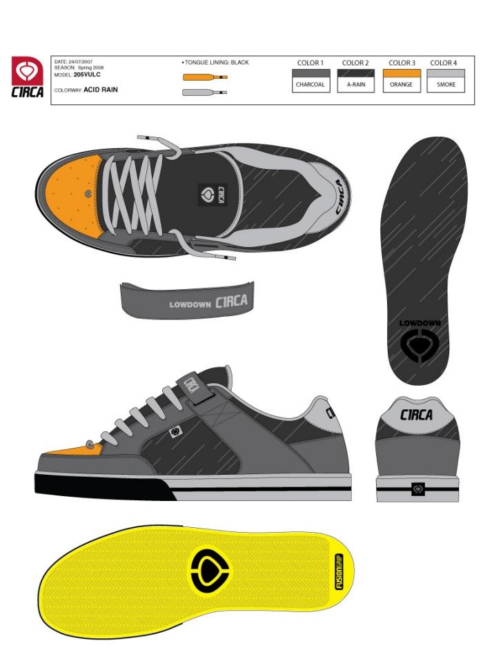 footwear design by bryce smith at coroflotcom