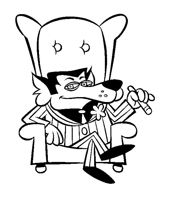 Underdog Amp Total Television Character Art By Patrick