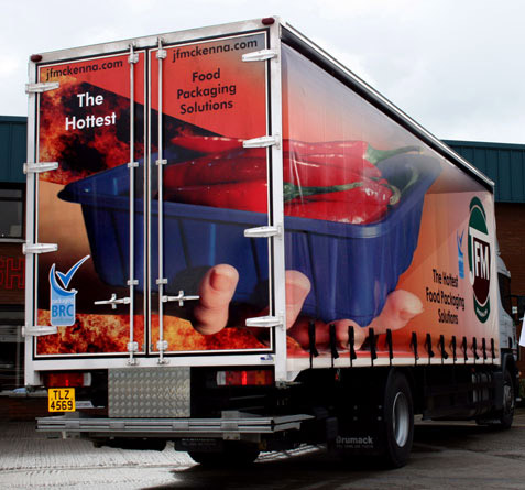 Illusion Design And Print Design For Print Vehicle