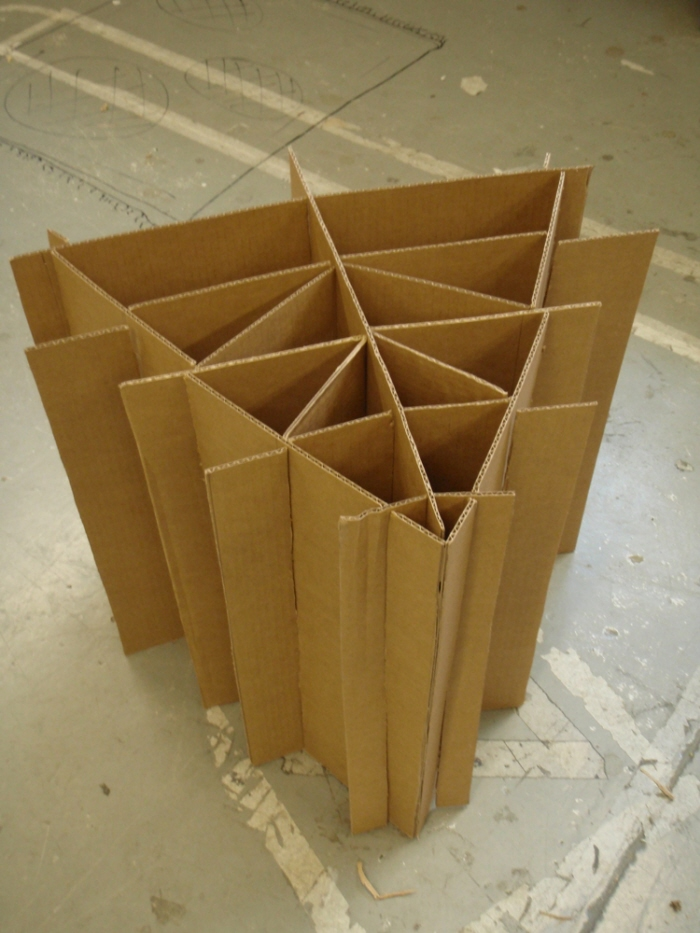 Cardboard Chair Project By Ben Millett At Coroflot Com