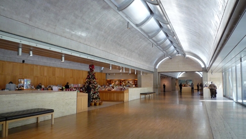 my experience at kimbell art museum A+a's discussion about the siting of the new pavilion at the kimbell art museum in  one that would irreparably damage the experience of the kimbell museum,.