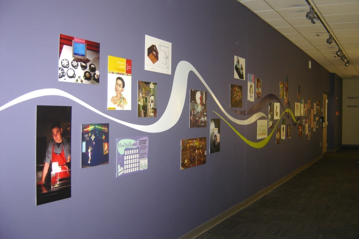 MoS Gordon Wing Environmental Graphics by Diane Bronstein
