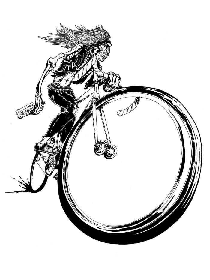 Dibujos para colorear » Dibujos de Bicicletas