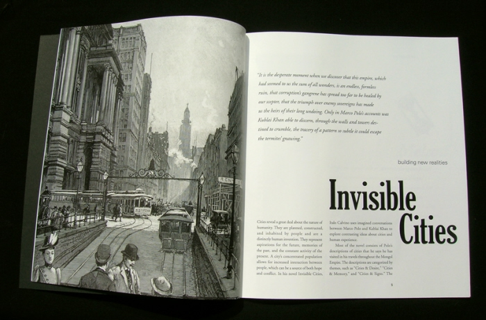 an analysis of the novel invisible cities by italo calvino Phase, invisible cities (1972), if on a winter's night a traveler (1979) and mr palomar (1983) before beginning my analysis, i must first situate calvino in his historico-philosophical genealogy, from the 1920s through the '80s.