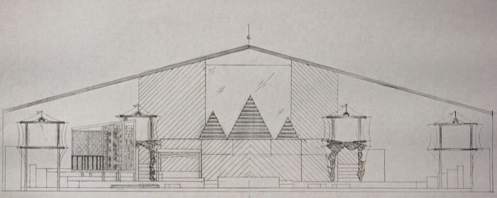 Front Elevation Set Design : Drawings sketches by patrice andrew davidson at coroflot