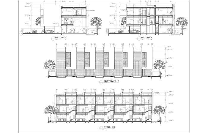 Architecture drawings by mohammed asim baig at for Full size architectural drawings