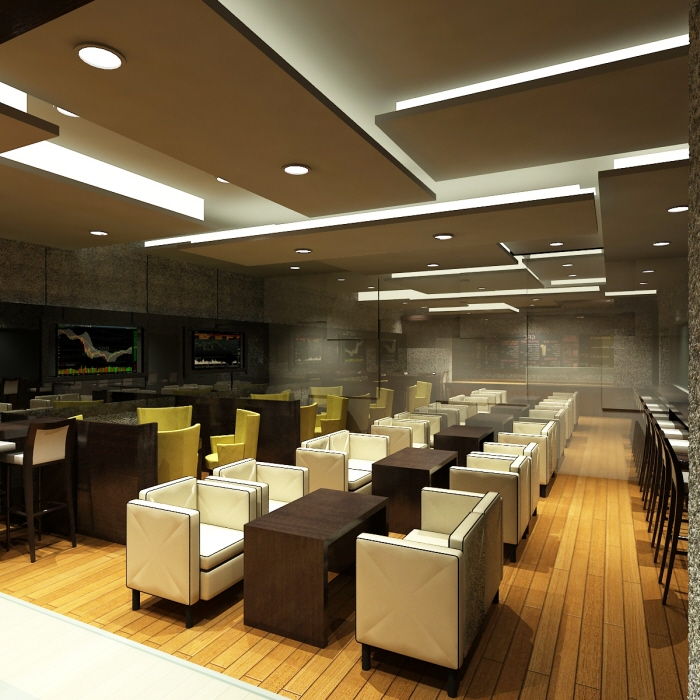 Interior design commercial trading cafe 2010 proposal by for Advanced interior designs reviews