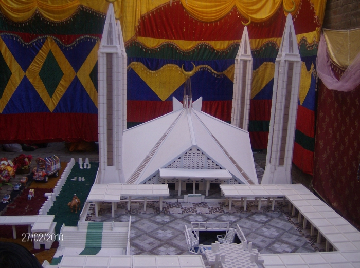 Faisal mosque by irfan jaan at for 12 rabi ul awal decoration pictures