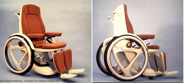 the elegant wheelchair by ron williams at coroflot