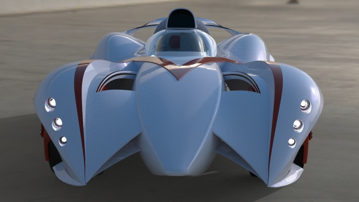 Speed Racer Mach 6 by Mark Quessey at Coroflot.com